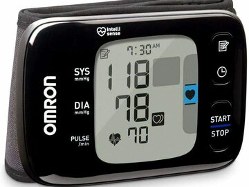 SALE: Omron 7 Series Wireless Wrist Blood Pressure Monitor