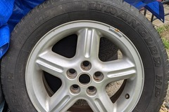 Selling: Single P38 Range Rover wheel and tire