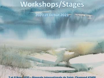 Offre: Stage aquarelle : choisir ses couleurs