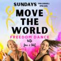 Free Session: MOVE THE WORLD - Freedom Dance - SUNDAYS 5pm UK Summer Time