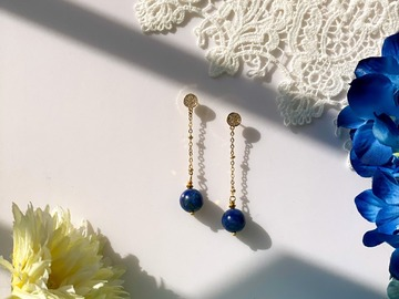 : Metis Lapis Lazuli Drop Earrings