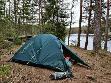 Vuokrataan (päivä): Trimm Comet -teltta