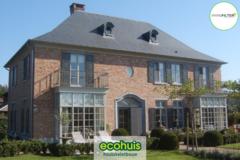 .: Manoir open bebouwing in houtskeletbouw I door Ecohuis