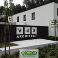 .: Moderne open bebouwing in houtskeletbouw I door Ecohuis