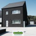 .: Moderne halfopen bebouwing in houtskeletbouw I door Ecohuis