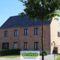 .: Pastorie halfopen bebouwing in houtskeletbouw I door Ecohuis