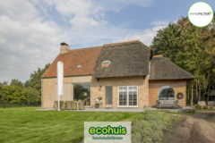 .: Pastorie open bebouwing houtskeletbouw | door Ecohuis