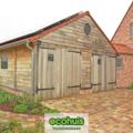 .: Pastorie open bebouwing houtskeletbouw I door Ecohuis