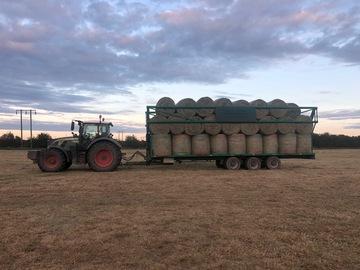 Hourly Equipment Rental: Fendt 724 tractor + operator