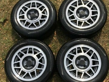 Selling: Vintage VW GTI Snowflake Rims with Tires MINT!!!
