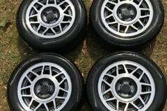 Selling: Vintage VW GTI Snowflake Rims with Tires MINT!!!