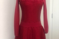 For Sale: Beautiful red knit dress