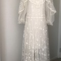 For Rent: White long dress For Rent $40/weekly
