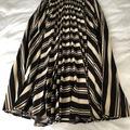 Selling: Crisp Stripe Pleated Skirt