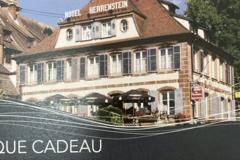 Vente: Chèque cadeau Hôtel Restaurant du Herrenstein (50€)