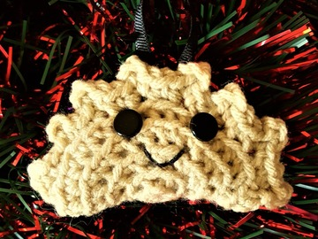Selling with online payment: Pierogi Christmas Ornament