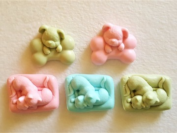 Selling with online payment: Puppies and Kittens Coconut Milk Soap