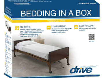 SALE: Drive Medical Hospital Bed Bedding in a Box
