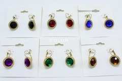 Buy Now: Dozen New Assorted Colorful Stone Earrings From kohls