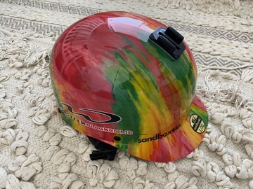 Daily Rate: Sandbox Rasta helmet