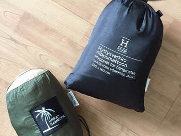 Leier ut (per day): Hawaii hammock -riippumatto ja hyttysverkko