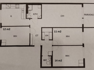 Renting out: One room available for shared apartment