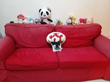 Selling without online payment: Big Sofa ( 3 seater with sofa bed )