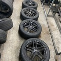 Selling: American racing gloss black 5 spoke