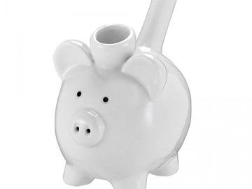Post Products:  Ceramic Piggy Pipe  Ceramic Piggy Pipe