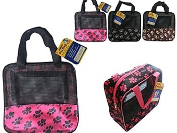 Compra Ahora: Wholesale Lot of  36 Small Pet Foldable Carrier-NEW