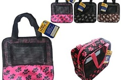 Buy Now: Wholesale Lot of  36 Small Pet Foldable Carrier-NEW