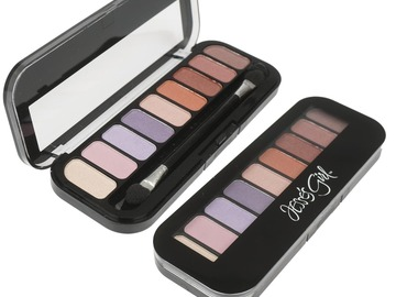 Compra Ahora: Jesse's Girl Eyeshadow - 9 Shade Palette, Pink-144 LOT-NEW