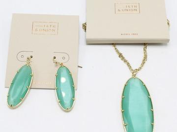 Liquidation/Wholesale Lot: Dozen Lot of New Nordstrom Rack Necklaces & Earrings NWT
