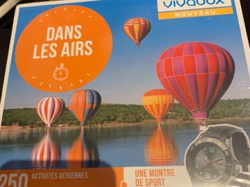 """Vente: Vivabox """"Montgolfière et activités dans les airs"""" (194,90€)"""