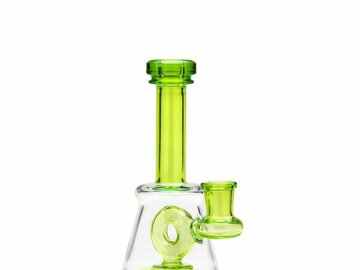 Post Products: 7in Banger Hanger w/Donut Showerhead Perc Dab Rig