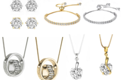 Buy Now: 30  Assorted pieces our best sellers Swarovski Elements Jewelry