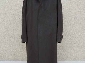 Online payment: Old England wool & cashmere macintosh 48UK