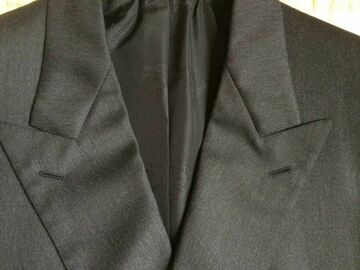 Online payment: BRIONI NEW charcoal 4-seasons worsted DB suit 40UK/50IT Regular
