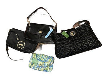 Buy Now: Resellers Desgner Handbag Lot 5 NWT Others in EUC  condition