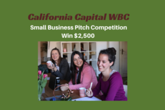 Announcement: California Capital Women's Business Center Pitch Competition