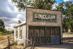 Info Only: Historic Sinclair Gas Station