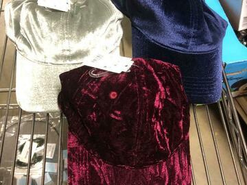 Compra Ahora: Mossimo Ladies Ball Caps 3 Colors Gray Maroon Navy msrp 12.99