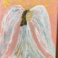 Selling with online payment: Angels Painting, 8 by 10 inches