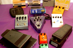 Selling with online payment: EFX pedals Stomp boxes etc....