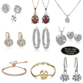 Buy Now: 50 Pcs Swarovski Elements Crystal Jewelry retail value $1,600.00