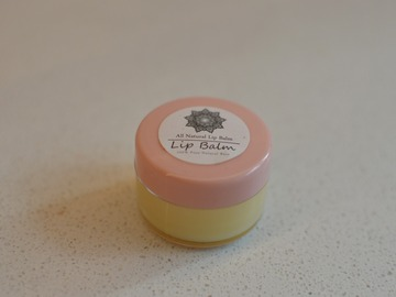 Buy Now: Natural Beeswax Lip Balm