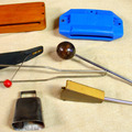 Selling with online payment: Assorted percussion items  some good some fair All work