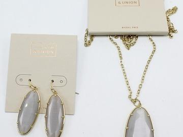 Liquidation/Wholesale Lot: Dozen Lot of New Nordstrom Rack Necklaces & Earrings #2