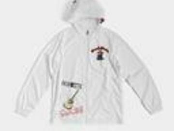 Selling with online payment: Beardedtracks Acoustic and Drummachine Windbreaker