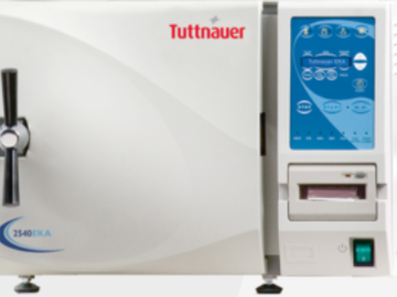 Nieuwe apparatuur: Tuttnauer sterilisatie apparatuur bij Larix Dental